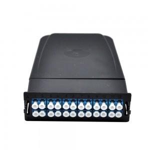 Fiber Optic MPO Cassettes with 24 LC Connectors