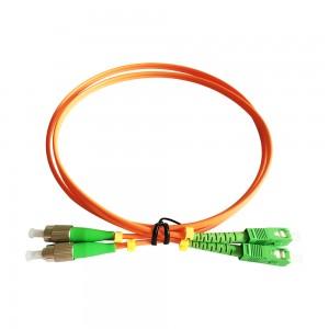 FC/APC-SC/APC Multimode Patch Cord