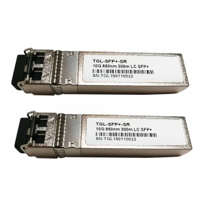 Compatible Module Transceptor SFP+ 10GBASE-SR Fibra Optica – LC Duplex, 10 Gigabit Ethernet, Multimode, 300m, 850nm