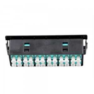 High Density MTP MPO Cassettes for 40G/100G Breakout Fiber Cabling