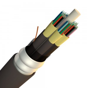 Indoor/Outdoor Armored Tight Buffered fiber cable