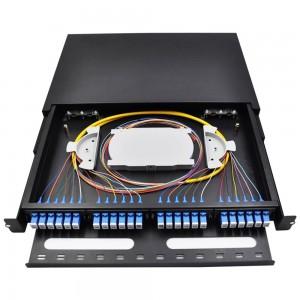 24 Port Sliding Type Fiber Patch Panel