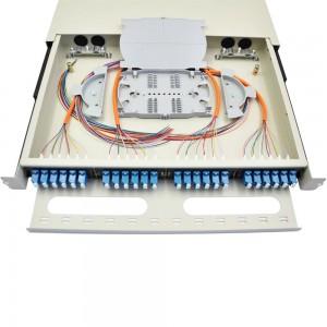 SC FC LC Odf 12 24 Core Fiber Optic Patch Panel