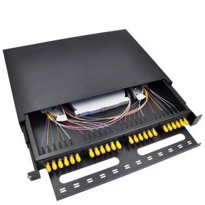 ST 24 Port Rack Mount Fiber Patch Panel