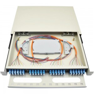 LC 48 Port Fiber Optic Patch Panel 19″ Rack Mounted
