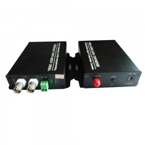 2 Channel Digital Video Optical Transceiver