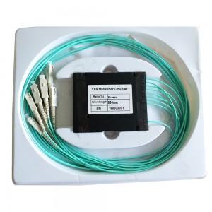 1×8 Module Box Fiber Optic Plc Splitter