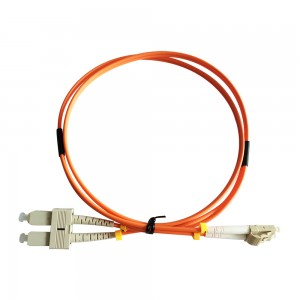 LC-SC MM OM1 OM2 Fiber Optic Patchcord With Rohs Compliant