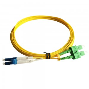 LC/UPC-SC/APC SM DX Fiber Optic Patch Cord 5m