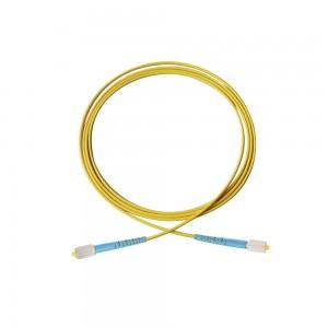 Original Factory Low Loss Chart Splitter Plc 1*8 - D4/PC Single Mode Simplex Fiber Optic Patch Cable – 10G-Link Fiber