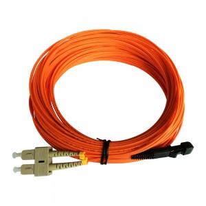 10 Meter MTRJ/SC Duplex MultiMode 62.5/125 Fiber Optic Patch Cable