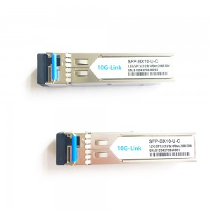 1.25G BIDI SFP 20km with LC connector TX1310nm/RX1490nm