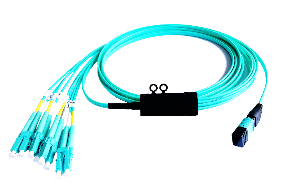 Cord MPO lêdanêwerbigire Fiber Optic Patch