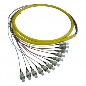 Free Sample Multimode/singlemode Fc/pc 12c Bundle Fiber Optic Pigtail