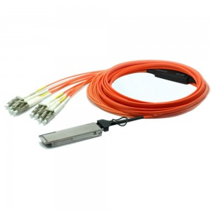 40G QSFP to LC Breakout AOC Multimode Cable Cisco Compatible QSFP-8LC-AOC Active optical Cable