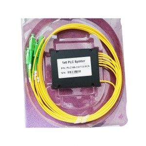 Factory making Duplex Fiber Patch Cords - 1×6 ABS Box Type Optical Pigtail Plc Splitter – 10G-Link Fiber