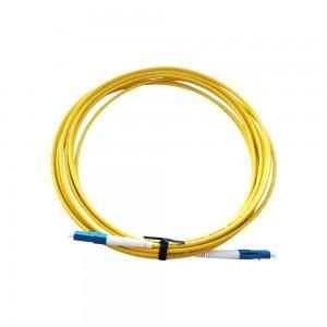 LCUPC-LCUPC SM Simplex Optical Fiber Patch Cord