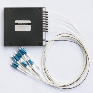 2×16 cwdm splitter with LC connectors,wavelength 1310-1610nm