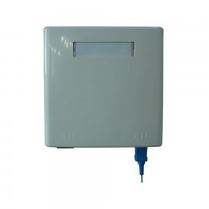 China Manufacturer for Buffer Tube Fan Out Kits - 2 Cores Fiber Optic Faceplate Box/FTTH Box – 10G-Link Fiber