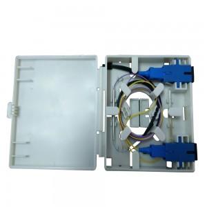 China New Product Patch Cord Fiber Optic - 2 Cores FTTH Fiber Optic Faceplate Box – 10G-Link Fiber