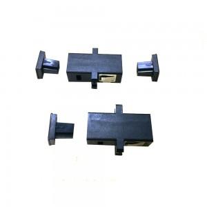 MPO to MPO Key-Up to Key-Up Fiber Optic Adapter