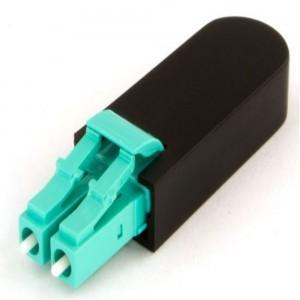 LC Fiber Optic Loopback Adapter OM3