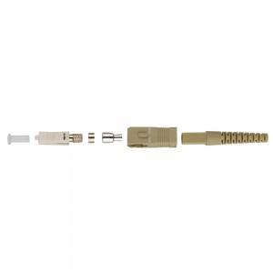 Assembled  SC Fiber Optic Connectors