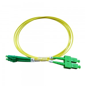 Jumper LCAPC-SCAPC single mode fiber patch cable supplier with competitive price