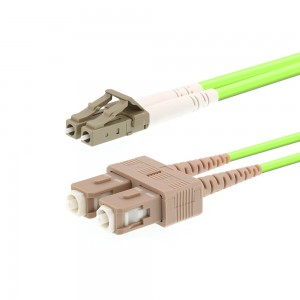 37ed07826 OM5 Wideband Multimode Duplex Fiber Optic Patch Cable (50/125) LC to ...