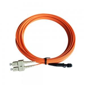 MTRJ bikang keur SC Serat patch Cable Multimode duplex Factory tawaran pesenan OEM