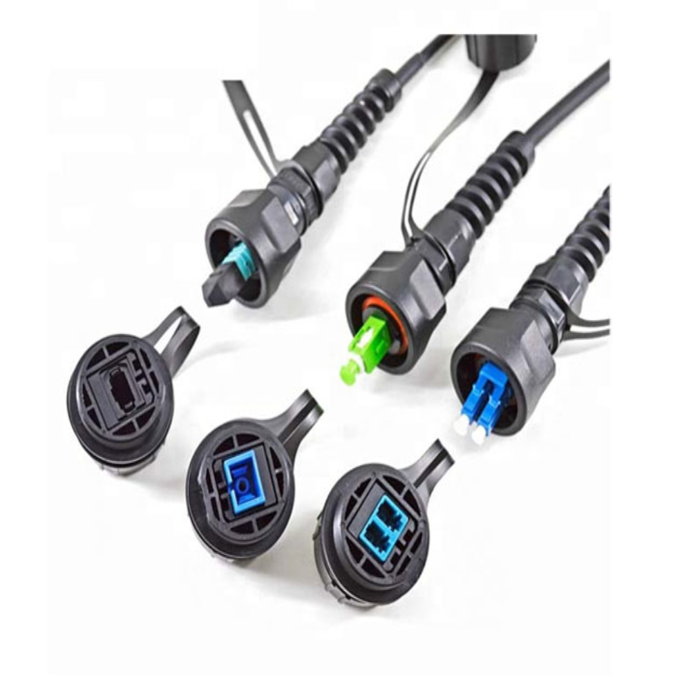 FTTA ODVA Outdoor Optical Fiber Patch Cords Cable 5.0mm with Mini SC/APC Reinforced Connector Featured Image