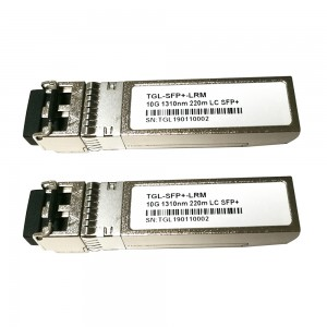 Compatible Module Transceptor SFP+ 10GBASE-LRM Fibra  Optica – LC Duplex, 10 Gigabit Ethernet, Multimode, 220m, 1310nm