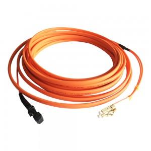 OEM Factory MTRJ-LC Duplex Flat Cable Optical Fiber Patch Cord