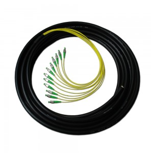12 Color FCAPC Fiber Optic Waterproof Pigtail