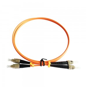 FC/UPC-FC/UPC OM1 62.5/125 Duplex Fiber Optic Patch Cord Manufacturer with best price and good quality